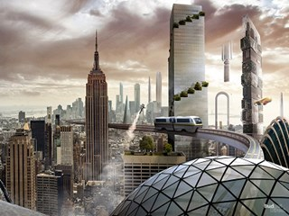 Travel into the future to see what 7 famous cities will look like