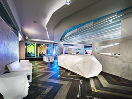 Benchtop materials for high-traffic hospitality areas