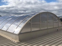 Polycarbonate panels selected for roof replacement in Barton ACT