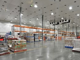 RAND Logistics cold store DC in VIC features Kingspan's UltraTemp panels