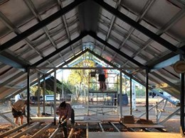 Kingspan insulates new steel roof at Fish River ranger accommodation