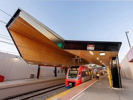 Oaklands Station by COX Architecture and ASPECT Studios