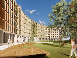 Work begins on JCB-designed sustainable student accommodation at La Trobe University