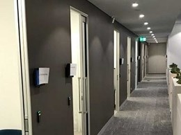 3 space-saving ways to use cavity door sliders in medical centre fitouts