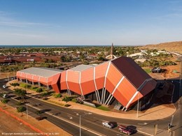 Alspec's high performance framing specified for new Karratha exhibition venue