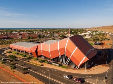 Red Earth Arts Precinct (Image © Aluminium Specialties Group Pty Ltd ALSPEC)