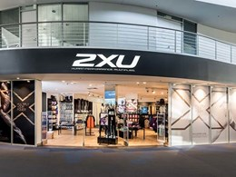 2XU sports store lighting features LED fittings from Aglo