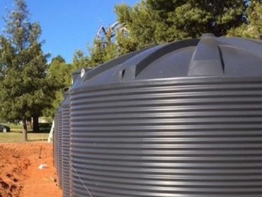 Rainwater tanks from Polymaster
