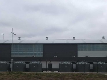 Polymaster rainwater tanks at Essendon Airport