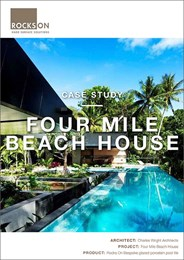 Case study: Four Mile Beach House