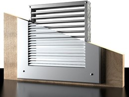 LVH intumescent air transfer grilles for fire doors