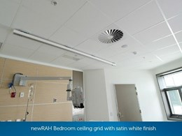 Kwikloc ceiling meets seismic and health requirements at New Royal Adelaide Hospital