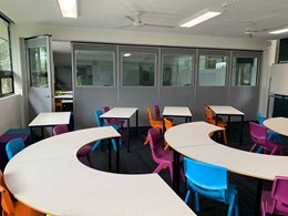 Operable walls enable flexible learning environment at Ku-ring-gai High School
