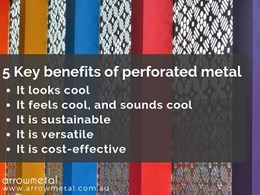 The multi-tasking qualities of perforated metal in architectural design