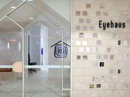A contemporary eye clinic that feels like home