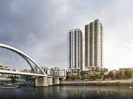 Rothelowman's subtropical design for new Brisbane mixed use building