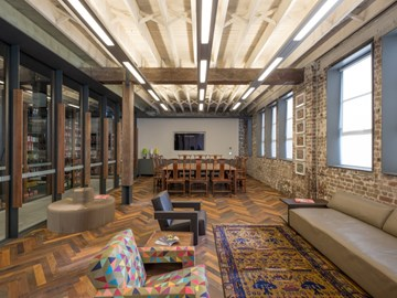 A historic Chippendale factory turned modern office suite