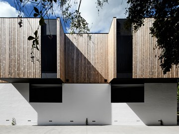 Adaptive reuse of a set of 1960s Melbourne townhouses