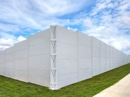 Custom engineered noise wall from EnduroMax protects residents in Townsville