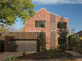 Passive design and recycled brick in a Melbourne courtyard home