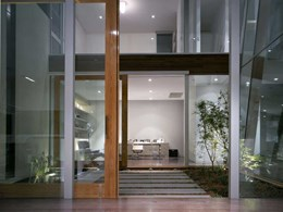Capral windows and glass doors open up beautiful views at family home