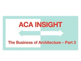 Robert Peake's concluding webinar on the Business of Architecture on 11 November
