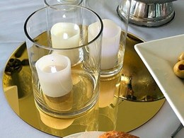 Allplastics' stunning acrylic mirror centrepieces for special events