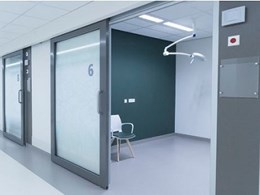 Automated doors for healthcare facilities