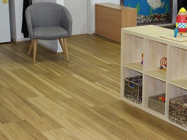 Welly Road Early Learning Centre - Korlok flooring