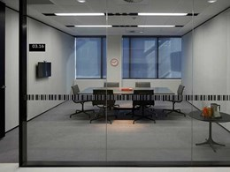 Criterion's Linium glazed partitioning adds spacious feel to Australian Post building