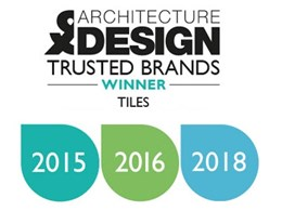 Academy ranked again as Australia's Most Trusted Tile Brand