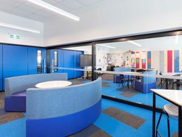 DDA compliant large format acoustic sliders for flexible learning environments