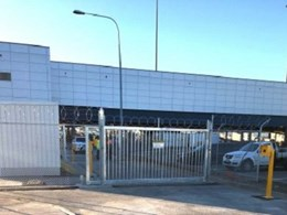 Leda manufactures and installs track gate at Adelaide Airport