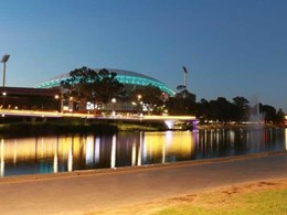 Enware's centrally controlled urinal flushing system installed at Adelaide Oval