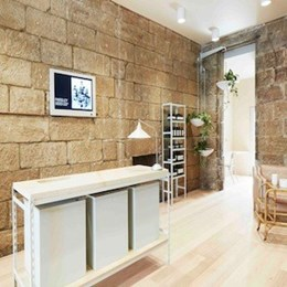 Henry Wilson transforms old sandstone bakery into Sydney Aesop store