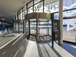Air curtain revolving doors keeping it healthy and sustainable post-COVID