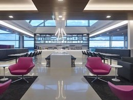 Nullifire thin film intumescent specified for Air New Zealand lounge at Brisbane airport
