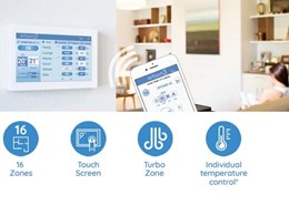 New AirTouch 3 for all in one control of air conditioning systems