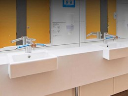 Dyson Airblade Tap hand dryers reduce waste at UWA campus bathrooms