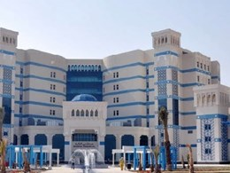 Tarkett installs acoustic flooring at Qatar's largest hospital