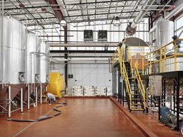 Flowfresh flooring system covers 8,000 sq. ft. of new USD 8 million Alamo Beer facility