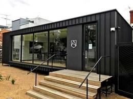 Alchemy display suite features Archclad Cliptray 48 cladding