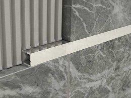 Architectural tile trims for a professional finish to tiling projects