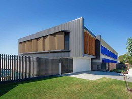 Kaynemaile mesh screens reduce solar gain at All Saints Anglican School
