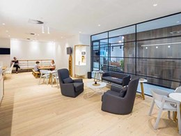 Mafi floorboards meet 'healthy timber' brief in Allergy Medical fitout