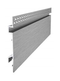 Clean line Alubase Shadowline aluminium skirting for modern interiors