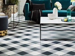 Inspiring geometric patterns from Designers' Choice LVT collection