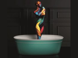 Apaiser goes bold with new Paul Flowers-designed Chameleon bathware collection