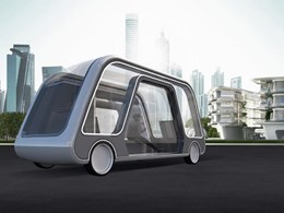 Hospitality design disruption with hotel suite on wheels