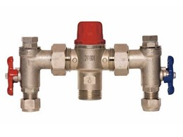 Aquablend thermostatic mixing valves from Enware Australia